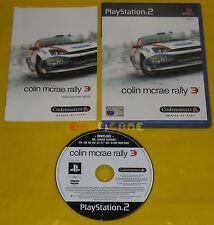 COLIN MCRAE RALLY 3 Ps2 Versione Ufficiale Italiana 1ª Edizione ••••• COMPLETO