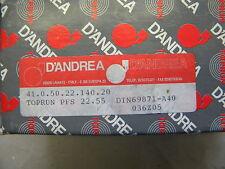 D`Andrea Kombidorn, Messerkopf-Aufnahme,Toprun,  SK 40 DIN 69871 A40 PFS22.55