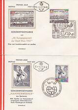 Österreich 1967: FDC Europagespräche der Stadt Wien, Sport
