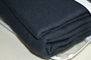 NEW RH Restoration Hardware Washed Linen Drape INDIGO Navy 100 x 84 DOUBLE