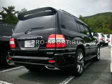 Toyota Land Cruiser 100 1998-2008 unpainted ABS upper trunk spoiler