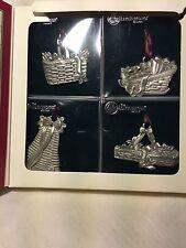 Longaberger Commemorative Christmas Collection Basker Ornaments 1994