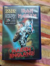 IRON MAIDEN Maiden england vhs + cd 1st press video special edition