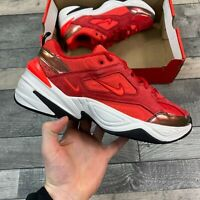 NIKE WOMENS M2K TEKNO RUNNING TRAINER SHOE UNIVERSITY RED SIZE UK3.5 US6 EUR36.5