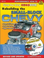 SA116 Rebuilding The Small Block Chevy Step By Step Video Book 327 350 400