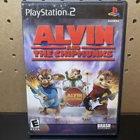 Alvin and the Chipmunks PlayStation 2 PS2 Complete w/Manual CIB Tested Works