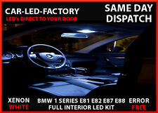 BMW 1 SERIES E81 E82 E87 E88 INTERIOR UPGRADE LED LIGHTING