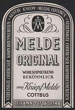 Etikett Schnaps Korn / liquer label / etiquette de liqueur / ca. 1930 # 1664