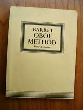 Barret A Complete Method for the Oboe Boosey & Hawkes original edition + extras