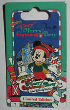 Mickey's Very Merry Christmas Party Mickey Passholder Exclusive 2007 LE 4000