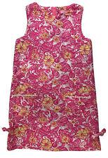 LILLY PULITZER Girls Sz 10 Shift Dress CHUM BUCKET Shell Pink White Yellow Beach