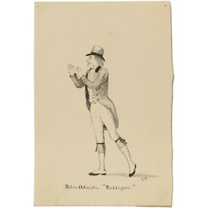 Original Antique Victorian Robin Oakapple Ruddigore Theatrical Portrait Hibbert