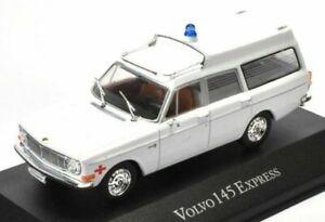 Agréable Atlas 1/43 Miniature Volvo 145 Express Ambulance en Blanc Suédois /