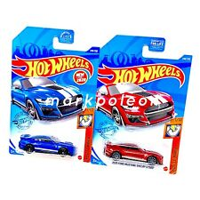 Hot Wheels 2020 Ford Mustang Shelby Gt500 Set of 2 Blue Red
