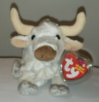 Ty Beanie Baby - FROSTY the Bull - MINT with MINT TAGS