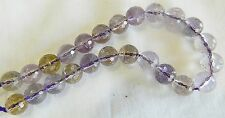 Ametrine, Pretty Micro Faceted 8mm Round Beads, Bag Of 5