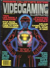 1982 VideoGaming Illustrated Early Video Game Magazine Premier Issue #1 Tron
