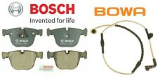BOSCH Rear Disc Brake Sensor Pad Set Kit for BMW 745i 745Li 750i 750Li 760Li B7