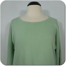 FOREVER 21 Women's/Juniors Mint Green Sweater Top, 3/4 Dolman Sleeves, size L