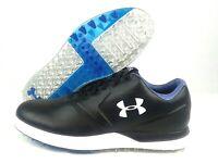 Under Armour Performance Spikeless Golf Shoes Black 1297177-001 Mens Sz 10