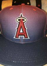 MLB Anaheim Angels Fitted Hat Size 8 New Era Cap
