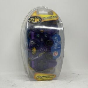 Madcatz Dual Force 2 Pro Advanced Analog Controller PlayStation 2 - Purple New