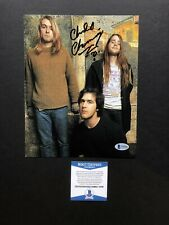Chad Channing autographed signed 8x10 photo Beckett BAS COA Music Nirvana Cobain