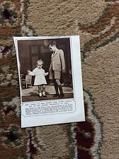 m5-1 ephemera 1943 ww2 picture king feisal iraq victor lampson