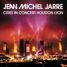 JEAN MICHEL JARRE - CITIES IN CONCERT HOUSTON LYON: REMASTERED CD ALBUM (2014)
