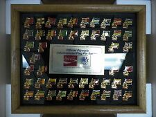 Limited Edition Coca Cola Official Olympic International Flag Pin Series 1984