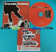 CD Singolo Benjamin Diamond Let's Get High !K7179CD FRANCE CARDSLEEVE PROMO(S22)