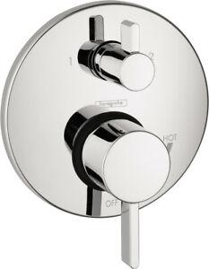 Hansgrohe Ecostat Pressure Balance Trim S w Diverter - 04447000 - Chrome