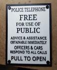 Tardis Door Sign 9.5 x 7 in. (3d Printed from Doctor Who)