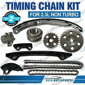 For Mazda 2.3L Non Turbo Timing Chain Kit 3 BK MZR SP23 L3-VE 6 GG GY L3C1 MPV