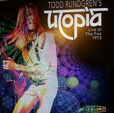 Todd Rundgren Todd Rungren's Utopia Live At The Fox Theater 1973 VINYL RSD 2017