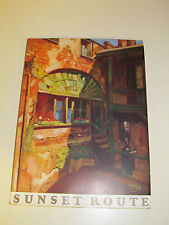 Sunset Route Southern Pacific Lines Sunset Press Picture Book 1920's