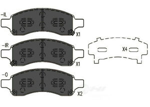 Disc Brake Pad Set-TSS Ceramic Pads Front Dash 4 Brake TD1169CH