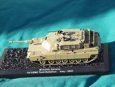 M1 Abrams m1a1ha pesados Armour Tanque Militar Diecast