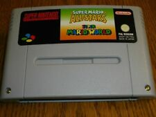 Super Mario Allstars + Mario World Super Nintendo SNES