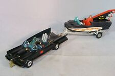CORGI TOYS GIFT SET 3 GIFTSET 3 GS3 GS 3 BATMOBILE WITH BATBOAT MINT RARE SELTEN