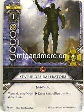 Warhammer Invasion - 1x Statue des Imperators  #103 - Glaube und Stahl