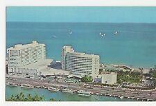 USA, Fontainebleau Hotel, Cabana & Yacht Club Miami Beach Postcard, A808