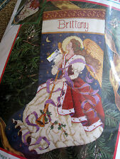 Dimensions Christmas Holiday Needlepoint Stocking Kit,ANGEL OF TIDINGS,9105,16""