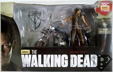 DARYL DIXON & CHOPPER The Walking Dead Figure & Motorcycle Deluxe Box Set 2014