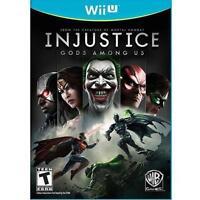 Injustice: Gods Among Us (Nintendo Wii U, 2013)