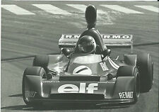 Renault F2 Elf Martini Race Patrick Tambay Original Photograph Excellent