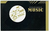 2013 STAMP PACK 'AUSTRALIAN LEGENDS OF MUSIC' - 5 x SE-TENANT PAIRS OF 60c MNH