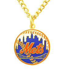 New York Mets MLB Logo Necklace