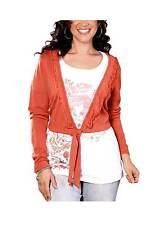 Amy Jones Strickbolero, orange Gr 44/46 UVP: € 39.99 NEU