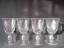 Duncan & Miller Canterbury Water Goblets Set of 4 Excellent